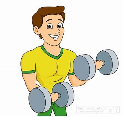 Strong Clipart Working Weights Clip Lifting Weightlifting