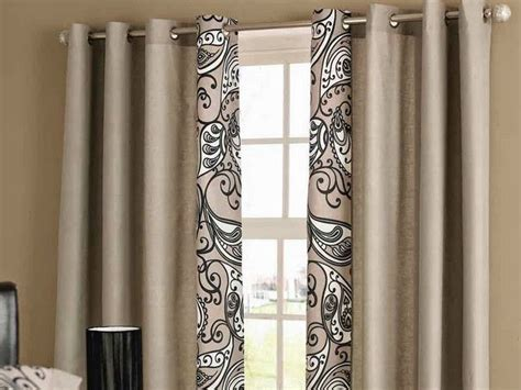 simple living room curtains pattern  solid curtains