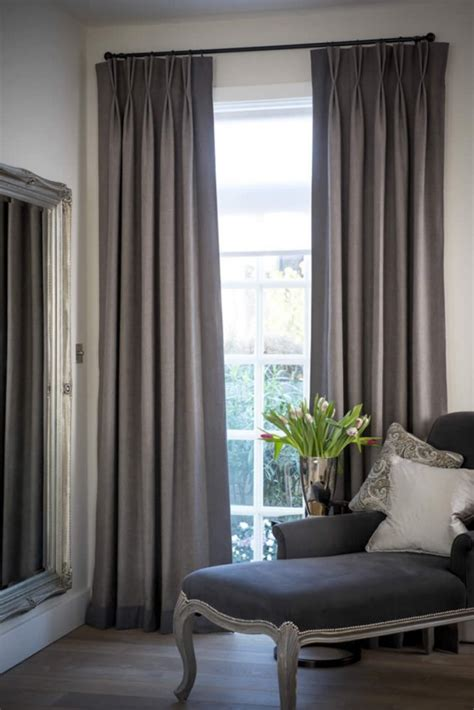 Bay Window Eyelet Curtain Pole by Curtains With Borders Made To Measure Curtains With Borders