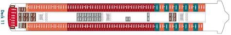 Ncl Jade Deck Plan 11 by Aktueller Deckplan Der Jade