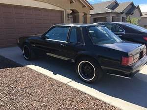 93 Mustang Coupe Foxbody 5.0 Black on Black