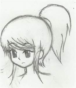 Another Ponytail Girl by circusmonster123 on DeviantArt