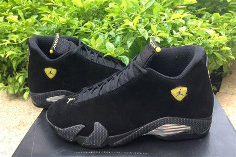 air jordan  ferrari black  vibrant yellow anthracite black  sale  jordans