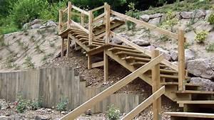 Un escalier exterieur en bois comment faire le bon choix for Comment faire un escalier exterieur en bois