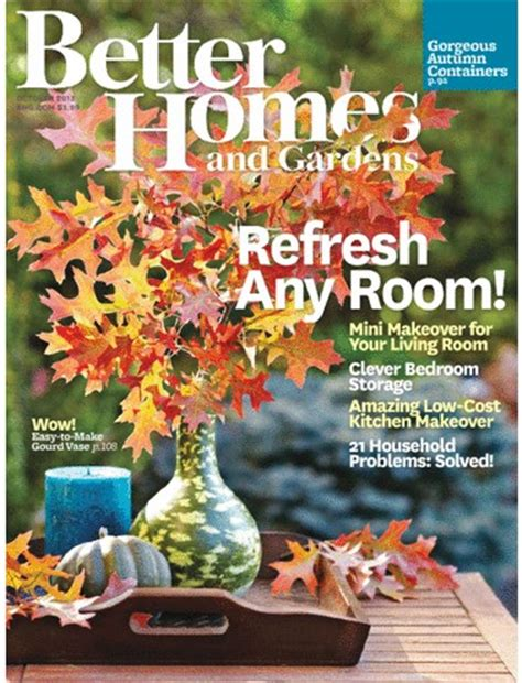 better homes and gardens magazine october 2013 eat your