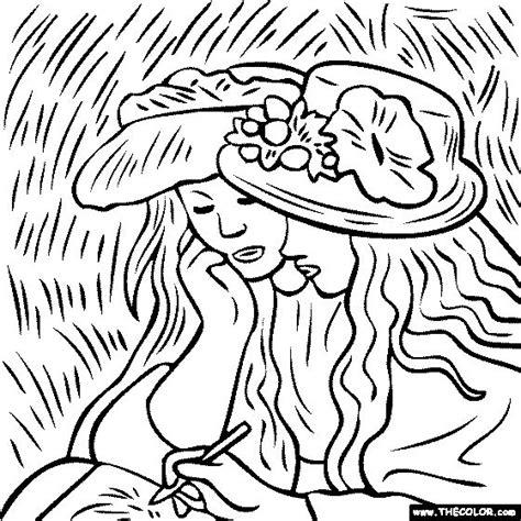 258 Best Images About Coloring Famous Art On Pinterest