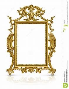 Luxury Gold Frame Royalty Free Stock Image - Image: 34066066