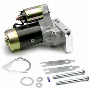 New Speedway Sbc Chevy Plain Mini Starter  2 0 Kw Motor