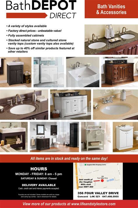 TORONTO   Vanity sale up to 60%   allsales.ca