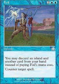 type ii blue counterspell magic the gathering deck