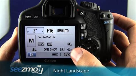 canon rebel tid night landscapes youtube