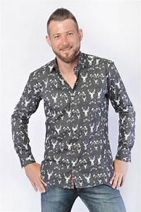 Chemise Noir Et Blanc : chemise motifs noir et blanc christian valer ~ Nature-et-papiers.com Idées de Décoration