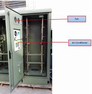 19 U0026quot  Heat Insulation Double Wall Green Outdoor Telecom