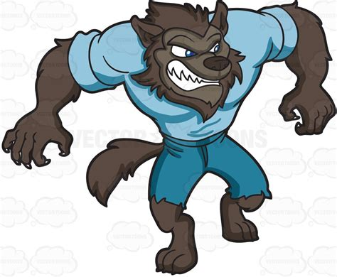 Werewolves Clipart