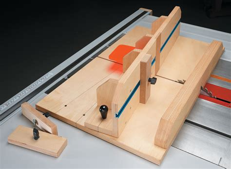 table  dovetail jig woodworking project woodsmith plans