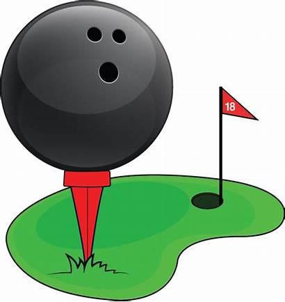 Clipart Indoor Golf Bowling Mini Break Lanes