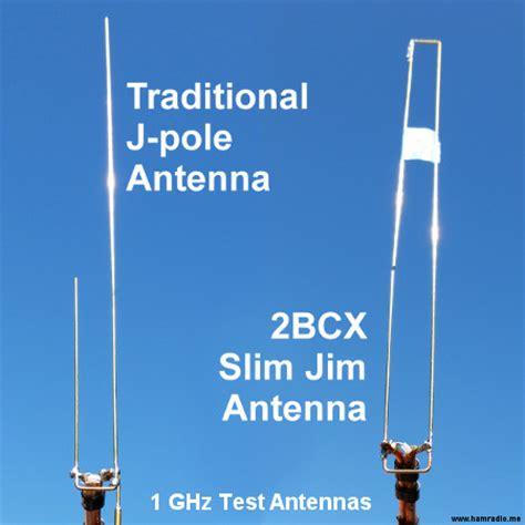 slim jim vs traditional j pole antenna