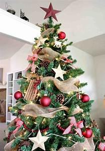 Geschmückte Weihnachtsbäume Christbaum Dekorieren : weihnachtsbaum deko ideen ~ Markanthonyermac.com Haus und Dekorationen