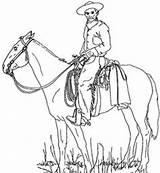 Cowboy Coloring Cowboys Horse Ausmalbilder Indianen Western Kleurplaten Kinder Printable Drawing Rodeo Stuff Cowgirl Draw Colour Juf Milou Crafts Coyboy sketch template