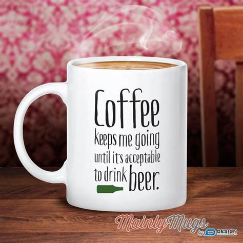 If there is any caffeine is it negligible? Beer Mug Coffee Gift Beer Gift For Beer Lover Essential