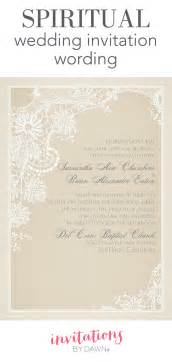 wedding invitation wording sles spiritual wedding invitation wording invitations by
