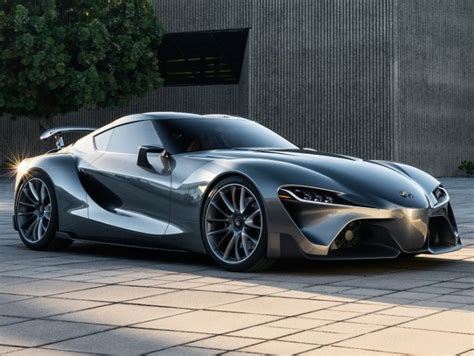 New Version Of The Toyota Ft-1 Sports Car Concept Unveiled