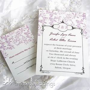 Adorable pink peach flowers wedding invitations iwi018 for Floral wedding invitations canada