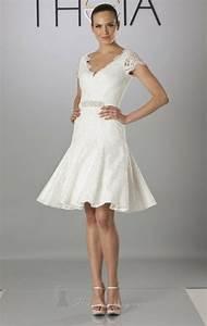 Robe Courte Mariée : modele robe de mariee courte ~ Melissatoandfro.com Idées de Décoration