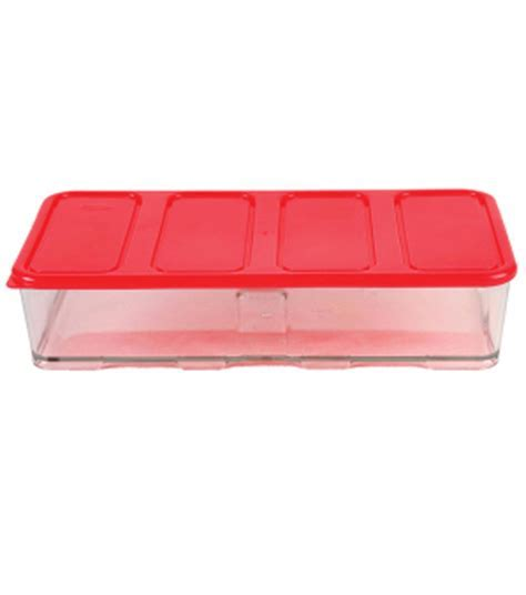 2000ML 4C CONTAINER WITH RED LID   Heap Seng Group Pte Ltd