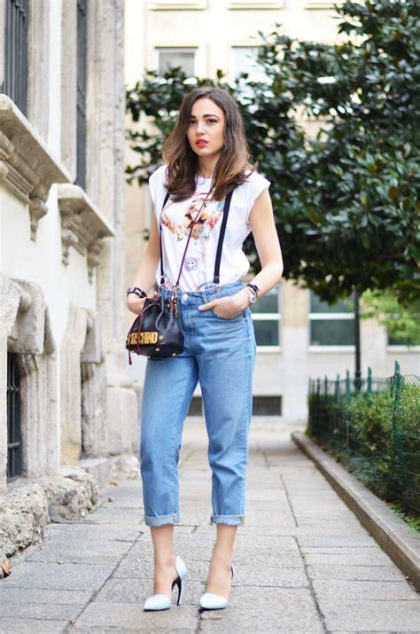 casual chic style  suspenders melissa cabrini