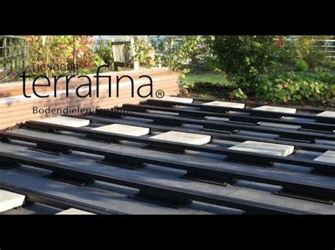 terrasse wpc unterkonstruktion verlegen einer terrafina terrasse wpc unterkonstruktion auf dachterrassen