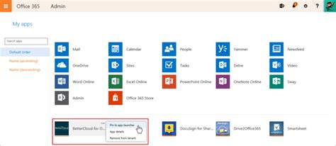 Get Tile App by Add Custom Tiles And Pin To The App Launcher In Office 365