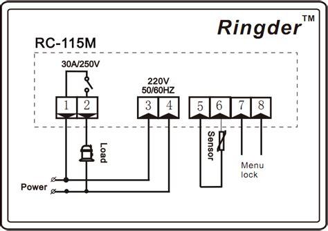 Ringder Digital Boiler Water Heater Temperature