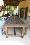 Make Outdoor Wood Table by Best 25 Patio Tables Ideas On Pinterest Diy Patio Tables Outdoor Tables A
