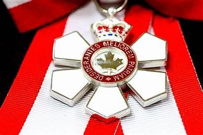 Canada Order Canadian Globe Mail General Insignia
