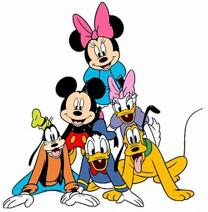 Mickey Friends Mouse Disney Clip Cartoon Disneyclips