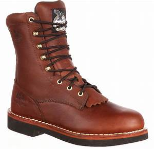 Blundstone Boots Size Chart Men 39 S Farm Ranch Brown Lacer Work Boots Georgia Boot