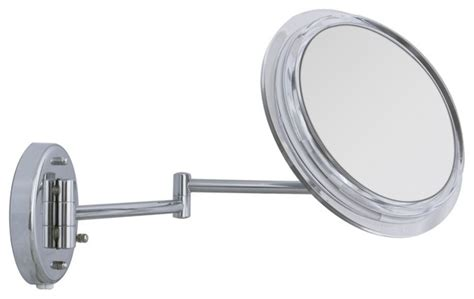 contemporary surround lighted chrome wall mounted 5x
