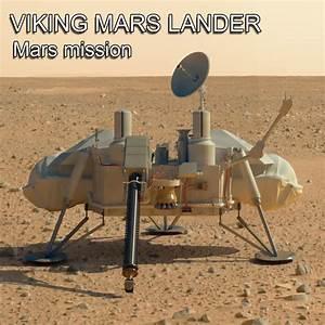 3d model mars viking lander