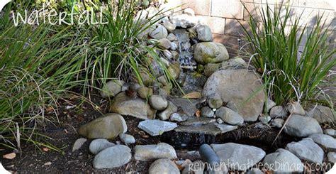 diy water fall diy garden waterfalls the garden glove