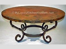 Wrought Iron Table Base Handmade for Coffee Tables, Dining