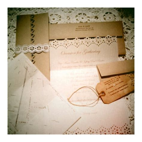 diy vintage inspired wedding invitations rustic wedding chic