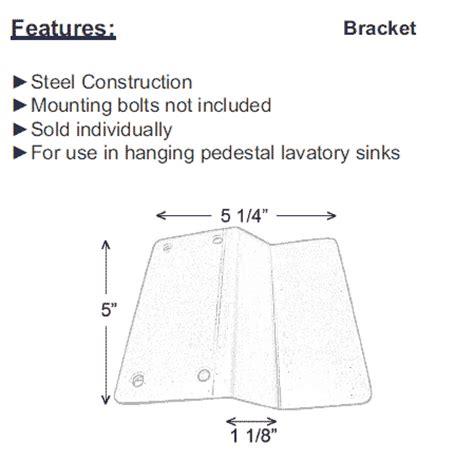 pedestal sink mounting bracket barclay corner and island pedestal porcelain sinks for the