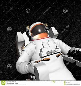 Astronaut In Space - 3D Render Stock Images - Image: 28113604