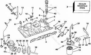 Omc Sterndrive Parts 4 30 Liter Oem Parts Diagram For