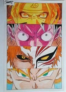 Pin Naruto-ichigo-luffy-goku-fusion on Pinterest