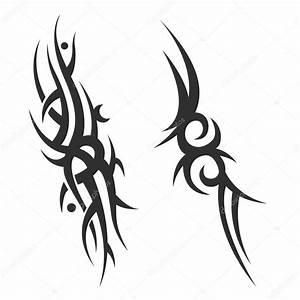 Tribal Tattoo Frau : tatouage tribal tatouage pour hommes tatouage f minin image vectorielle klowreed 112180256 ~ Frokenaadalensverden.com Haus und Dekorationen