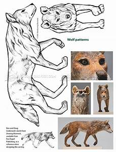 Wolf Carving - Wood Carving Patterns • WoodArchivist