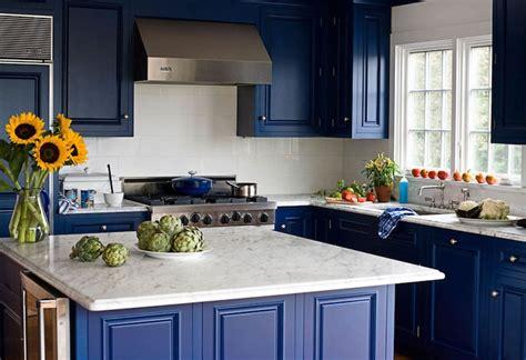 cuisine bleu nuit quelle couleur pour une cuisine chic 40 idées de