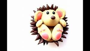 Polymer Clay Hedgehog Tutorial